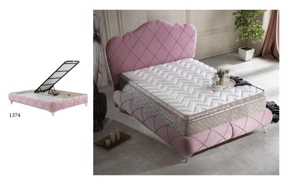 Elegance Storage Queen Bed