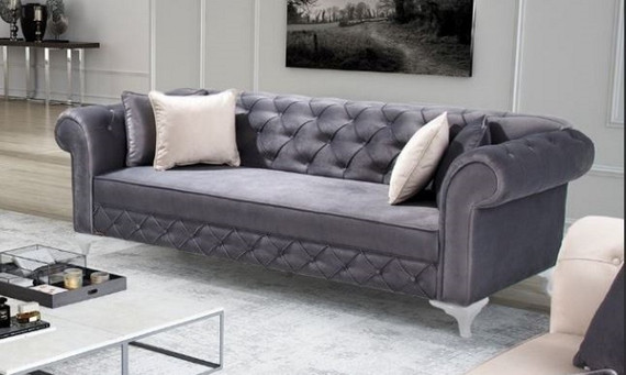 Chester Sofa Gray