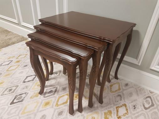 MFS142 Nesting Table - Walnut
