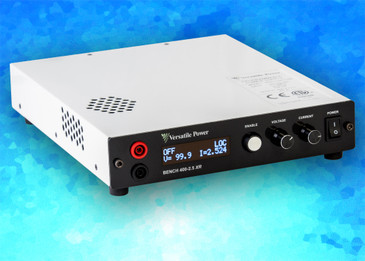 BENCH 100-10 XR:  Programmable 600W/100V/10A DC Power Supply with Ethernet, USB and Analog Control — IN STOCK