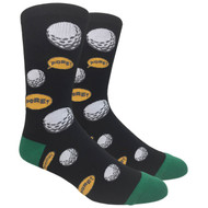 FineFit Novelty Socks - Fore! (NV070A) - 1 Dozen