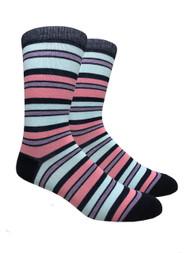 FineFit Stripe Dress Socks (SD509) - 1 Dozen