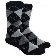 FineFit Black - Argyle (ADB014) - 1 Dozen