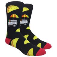 FineFit Novelty Socks - The Taco Stand (NV003) - 1 Dozen