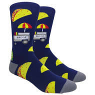 FineFit Novelty Socks - The Taco Stand (NV004) - 1 Dozen