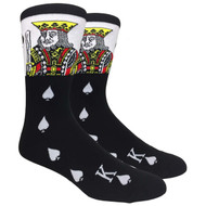 FineFit Novelty Socks - The King (NV009) - 1 Dozen