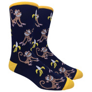 FineFit Novelty Socks - The Hungry Monkey (NV018) - 1 Dozen