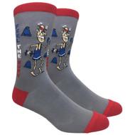 FineFit Novelty Socks - Feel the Burn (NV024) - 1 Dozen