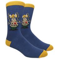 FineFit Novelty Socks - I Love Beer (NV025) - 1 Dozen