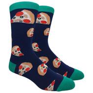 FineFit Novelty Socks - Pizza Pizza (NV031) - 1 Dozen