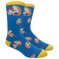 FineFit Novelty Socks - Pizza Pizza (NV032) - 1 Dozen