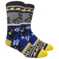FineFit Novelty Socks - Paradise (NV040) - 1 Dozen