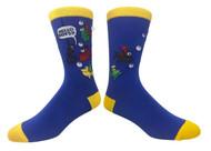 FineFit Novelty Socks - Hello Boys (NV047) - 1 Dozen