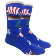 FineFit Novelty Socks - Ahoy Matey (NV053) - 1 Dozen