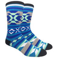FineFit Novelty Socks - Southwest (NV054B) - 1 Dozen