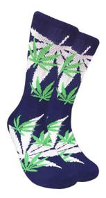LEAF Republic Marijuana Print Crew Socks (LF007)
