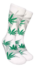 LEAF Republic Marijuana Print Crew Socks (LF010)
