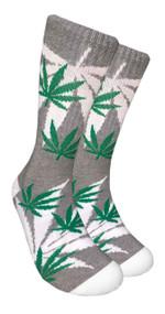 LEAF Republic Marijuana Print Crew Socks (LF012)