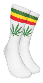 LEAF Republic Marijuana Print Crew Socks (LF015)