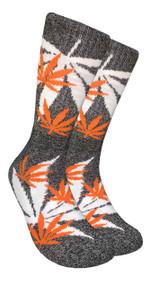 LEAF Republic Marijuana Print Crew Socks (LF035)