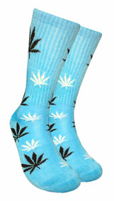 Mad Toro Marijuana Design Crew Socks (TR016)