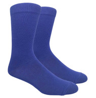 FineFit Plain Dress Socks - Royal Blue - 1 Dozen