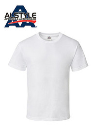 Alstyle Apparel & Activewear (AAA) White T-Shirt / (1 qty = Half dozen, 6 pieces)