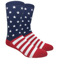 FineFit Novelty Socks - The Patriot (NV059) - 1 Dozen