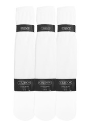 Credos Tube Socks - White (Size: 10-13) - 1 Dozen