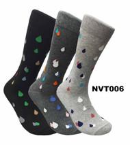 FineFit Novelty Socks 3 Pair Bundle - Waterdrops (NVT006) - 1 Dozen