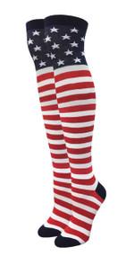 Julietta Over The Knee Socks - Stars and Stripes (SR735) - 1 Dozen