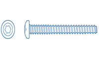 "Paramount SDX Security Torx Screw 10x7/8"" for Concrete Pools"