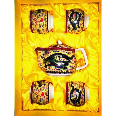 Ceramic Tea Set for Four #1