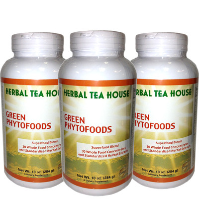 Green Phytofoods 10oz 3-Pack by Herbal Tea House