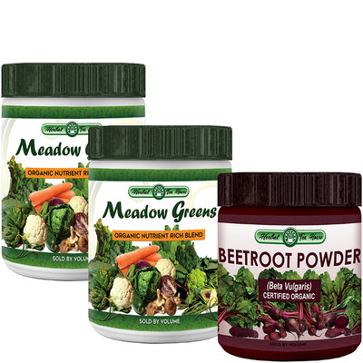 MeadowGreens and Beetroot Powder 3-Pack Special
