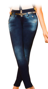 Latin Fit Jeans by Esencial - Loto