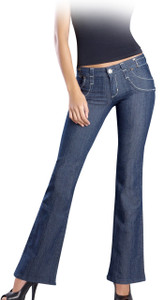 Jeans Push Up Campana