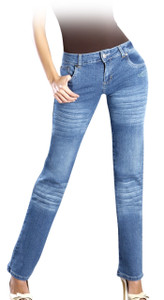 Push Up Corrugated Jeans