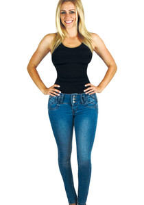 Skinny Jean Lila
