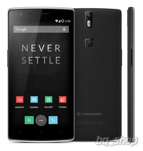 "OnePlus One 64GB Black LTE 5.5"" QuadCore 2.5GHz 3GB 13MP Android Phone"
