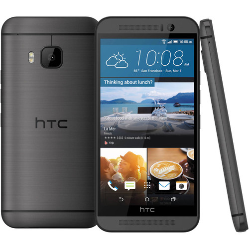 """NEW HTC One M9 PLUS M9+ Gray 5.2"""" 32GB Octa-Core 20.7MP Android Phone"""