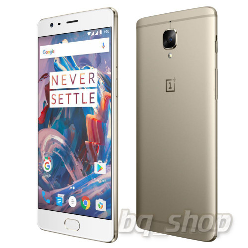 "OnePlus 3 Three Gold 64GB 6GB Ram 5.5"" 16MP Android Phone"