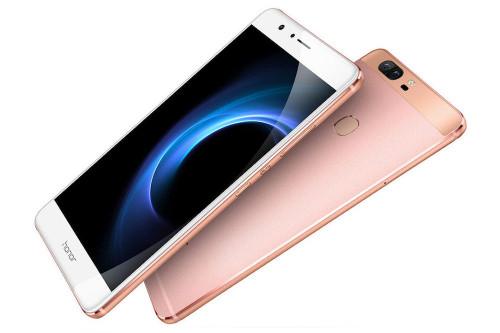 Huawei Honor V8 Dual Sim Rose Gold 64GB 5.7'' 4GB RAM Android Phone