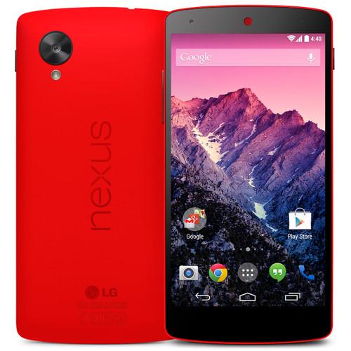 LG Nexus 5 D821 16GB 2GB RAM Quad-core 2.3GHz 8MP Android Red Phone