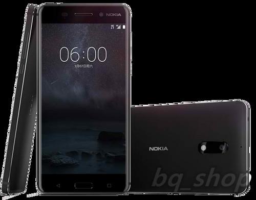 "Nokia 6 Dual SIM 32GB Black 5.5"" 3GB RAM 16MP Android Phone"