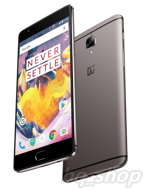 "OnePlus 3T 64GB A3000 USA Grey 16MP 5.5"" 6GB RAM 16MP Android Phone"