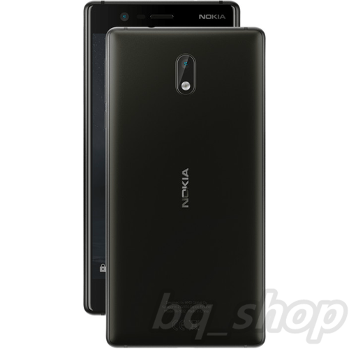 "Nokia 3 Dual SIM 16GB Black 5"" 2GB RAM 8MP Android with Playstore"