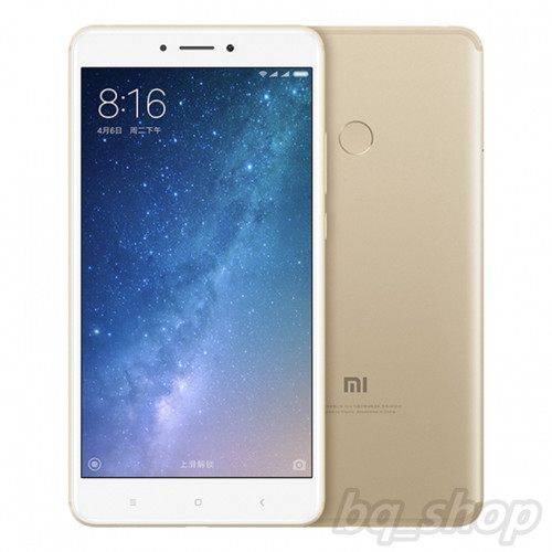 "Xiaomi MI Max 2 Gold Dual Sim 4GB RAM 6.44"" 12MP Android 7.1.1Phone"