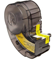 XSL-116-427 XSL-21-427 IDXPERT® Label Cartridge Self-Laminating Vinyl Black on White 100/Cartridge