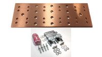 "BB-TMGB-4-20-K1 - 20"" Main Ground Bar Assembly and Hardware Kit (no lugs)"
